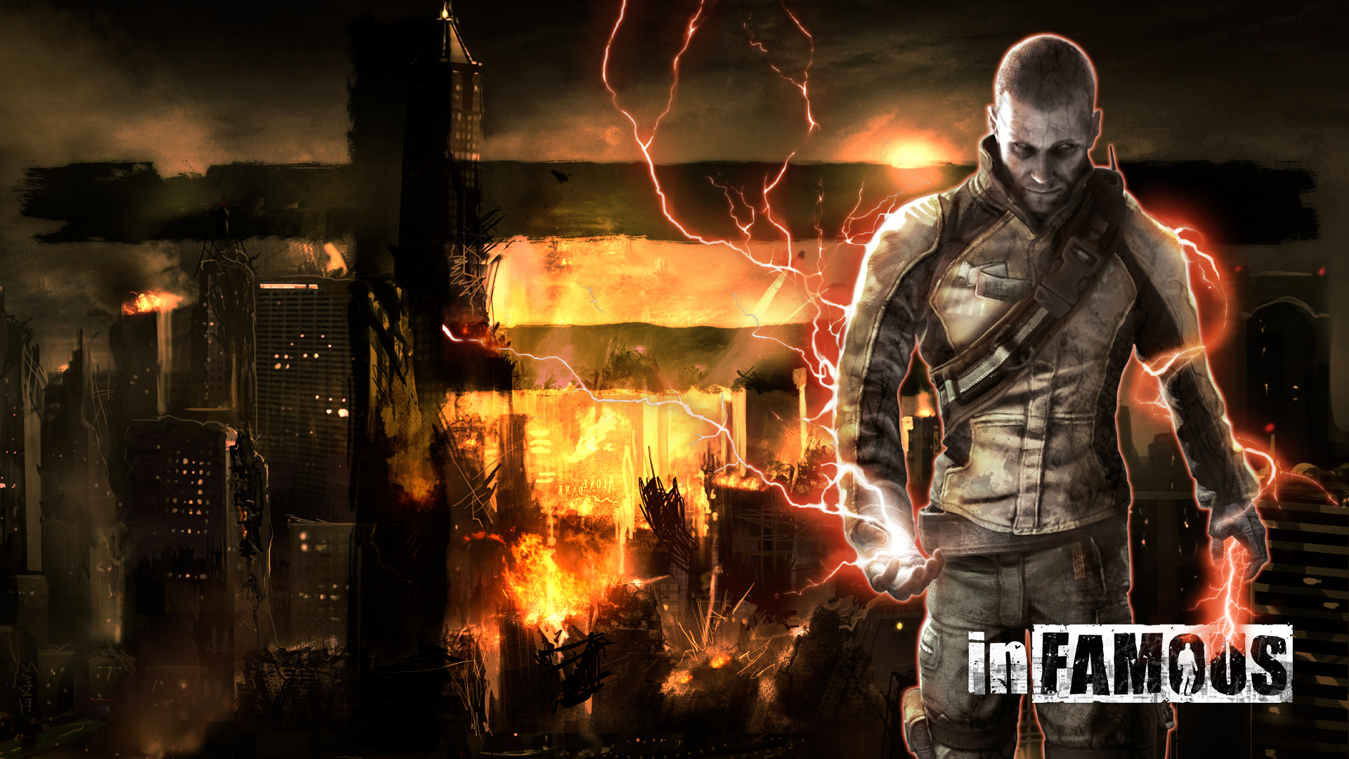 inFAMOUS PS3 Wallpaper by JaKhris on DeviantArt
