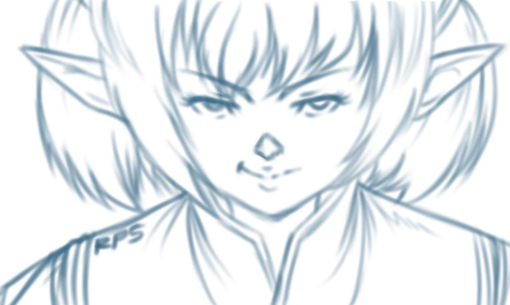 Shantotto quick sketch by pirARTeking