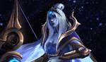 Cosmic Queen Ashe by Akiuumi