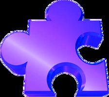 Autism Puzzle Peice / Aspie Jiggy