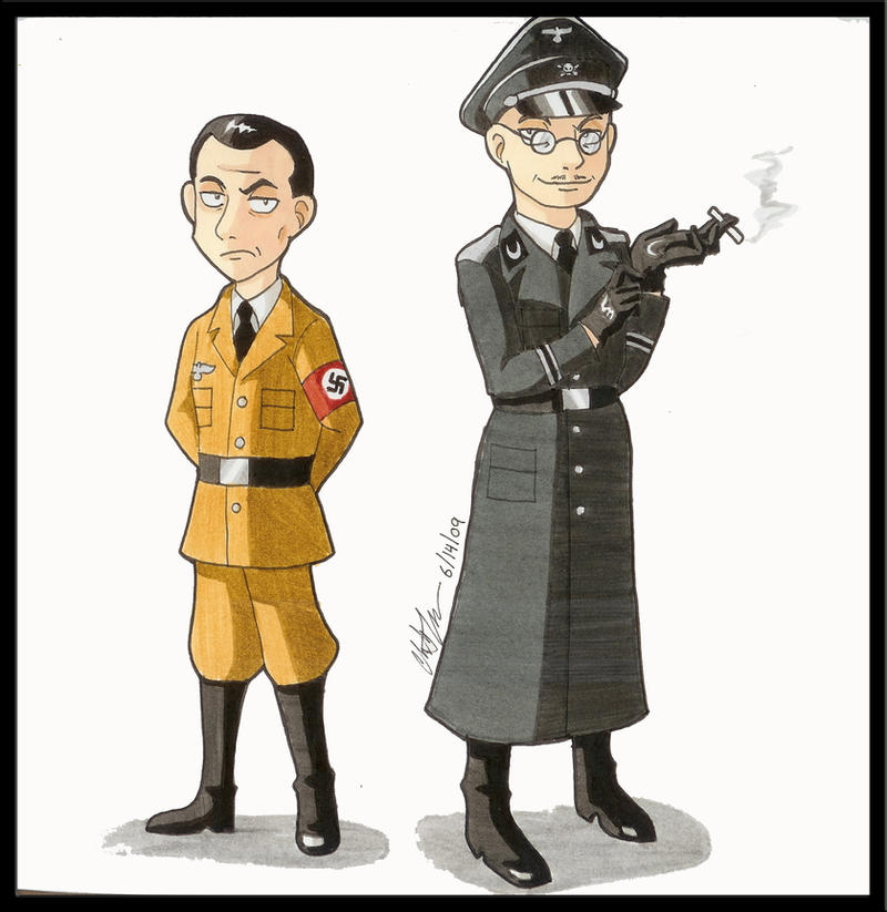 Hitler S Agents Of Evil Goebbels And Himmler By