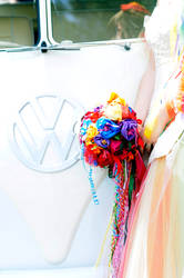 Boquet and VW Kombi by littlehippy