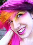 Pink, Yellow, Purple Hair 2