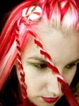 Christmas Hair Candy Cane