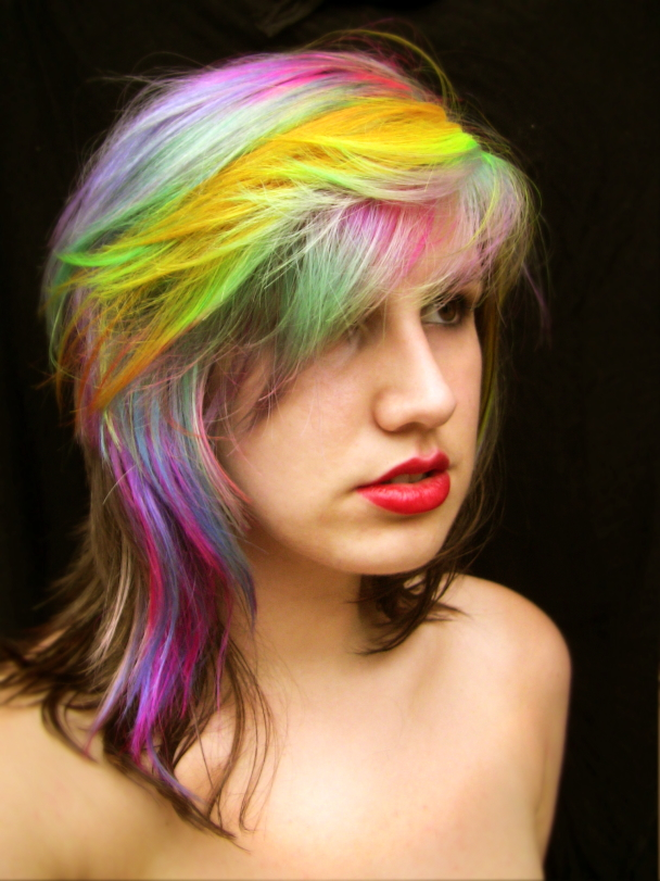 Colorful Hair by littlehippy