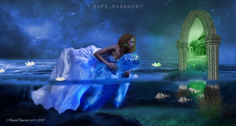 Safe Passage by AimeeGemini-art