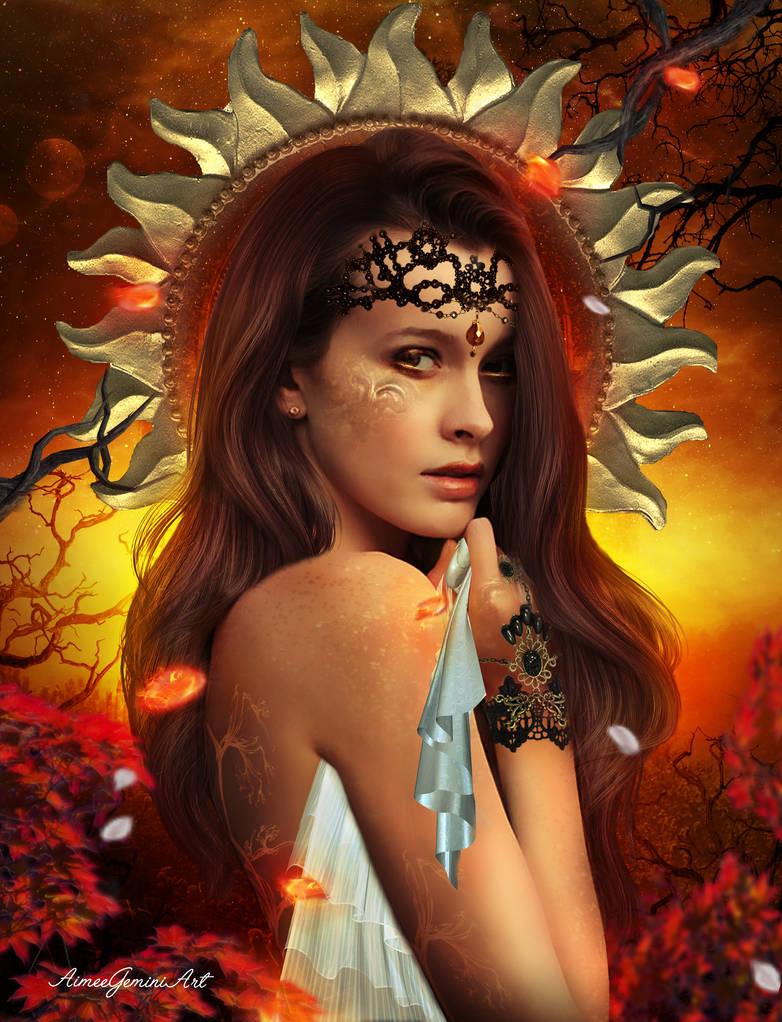 Gold Within Me by AimeeGemini-art