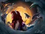 Shining Under The sea.  by AimeeGemini-art
