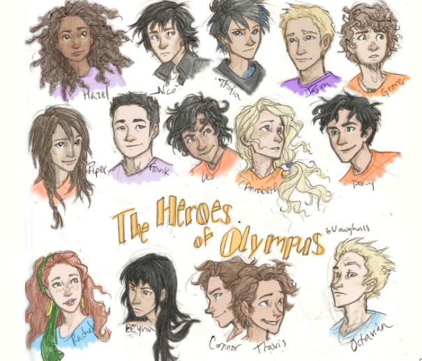 Heroes of Olympus by P...
