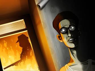 Barton Fink by odanchin