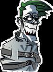 Joker buste