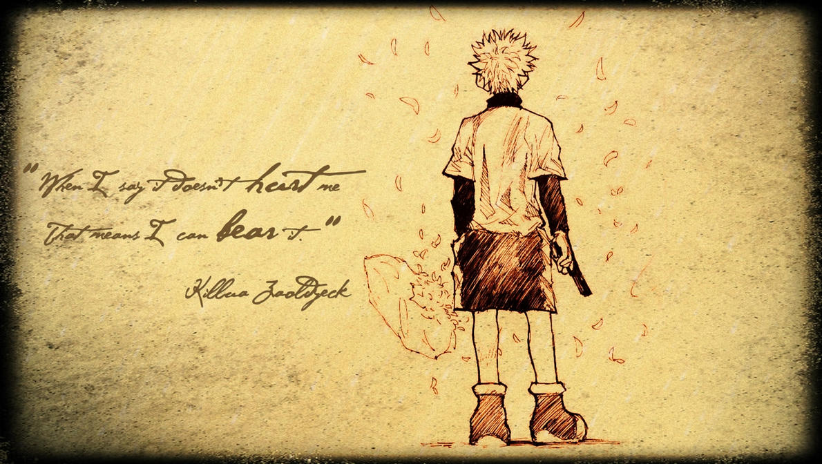 Killua's Quote by piri-666