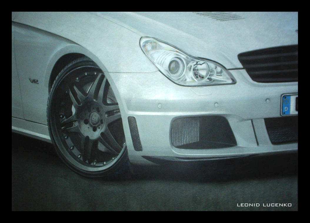 Mercedes CLS Brabus by ~Le0nid on deviantART
