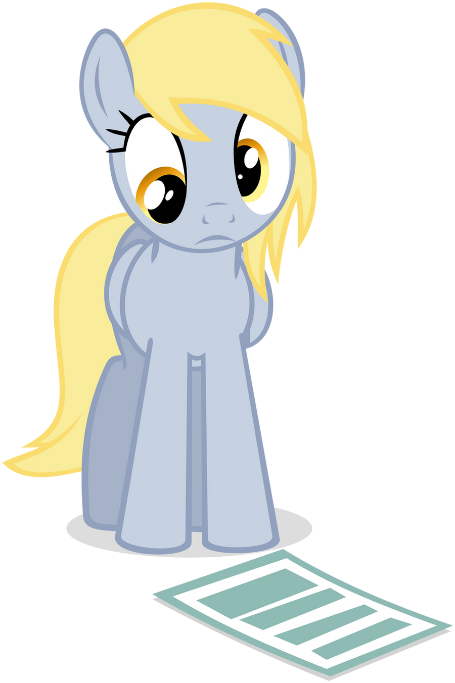 A Note for Derpy by flutterguy317