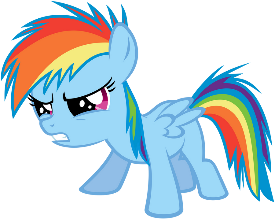 Filly Dash Is Not Amused by flutterguy317 on DeviantArt