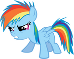 Filly Dash Is Not Amused