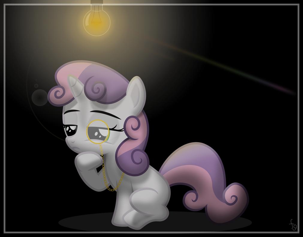 Like a Sweetie Belle by flutterguy317