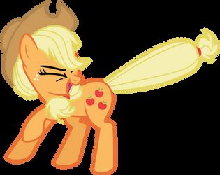 Applejack Speed Vector by flutterguy317