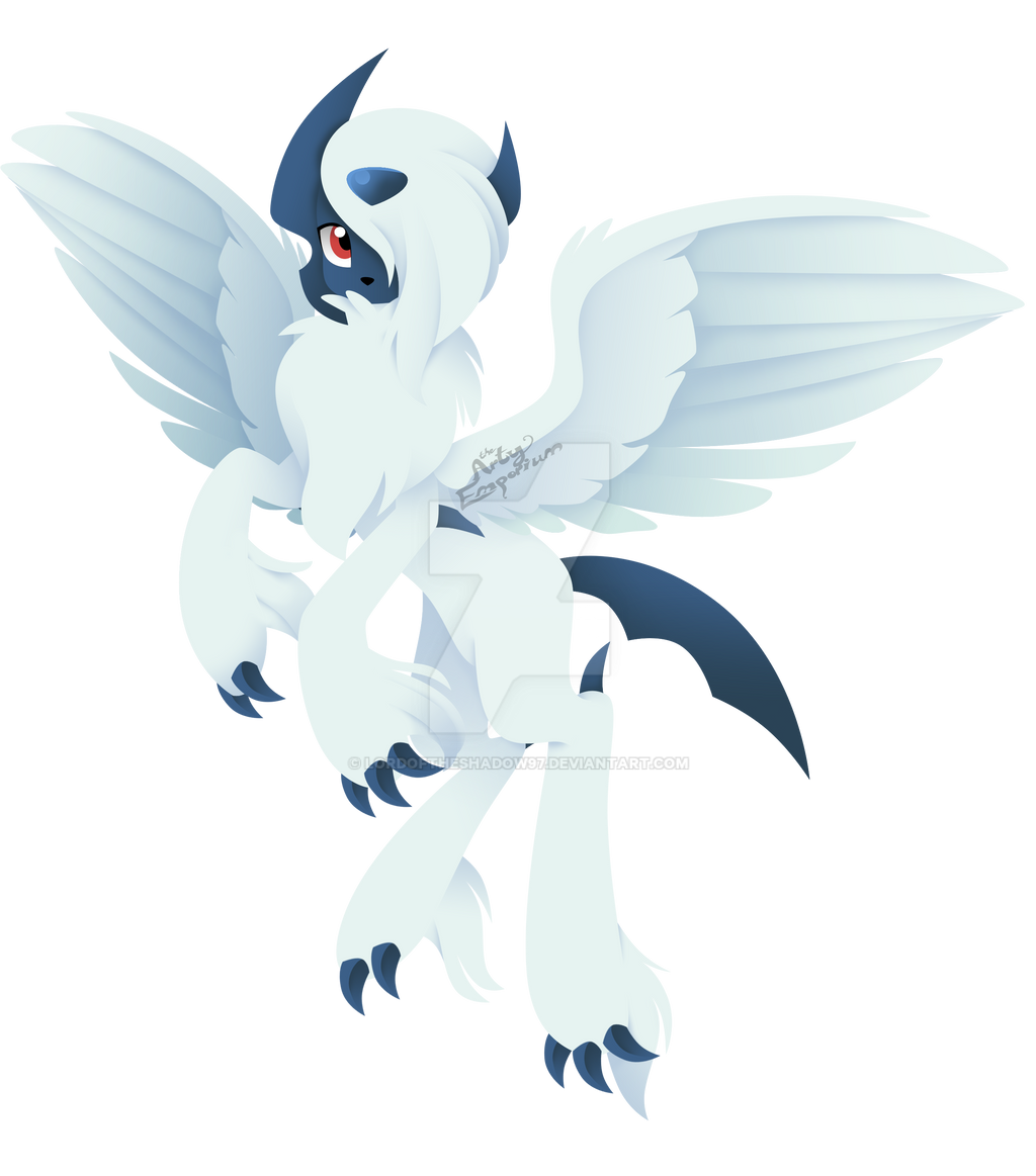 Mega evolved absol by lordoftheshadow97 on deviantart - Absol evolution ...