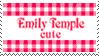 Emily Temple Cute Fan