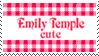 Emily Temple Cute Fan by kissmykandi