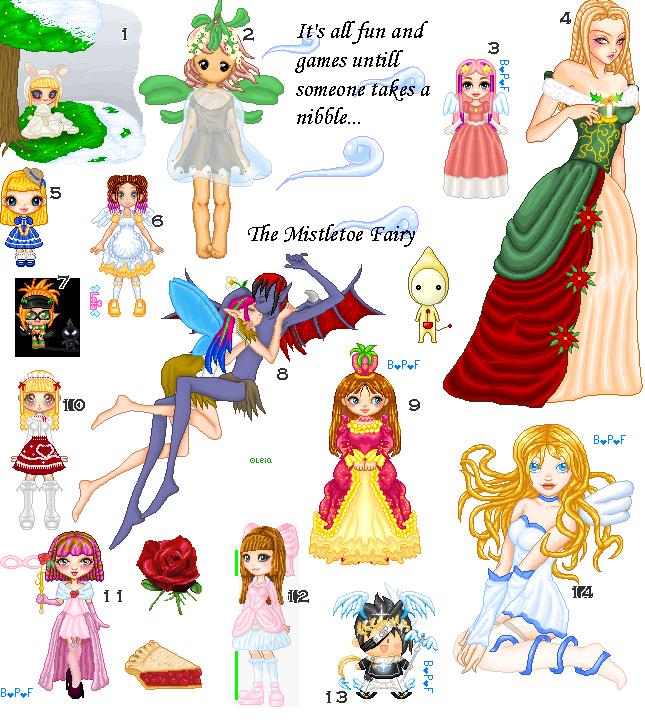 Old Dolls and Pixels Dump by kissmykandi