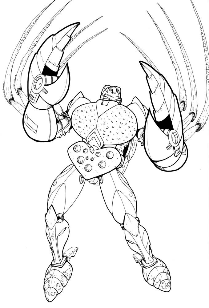 Beast wars tarantulus by ragelion on deviantart for Beast quest coloring pages