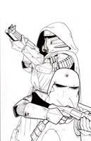 Commander Keller WIP by ragelion