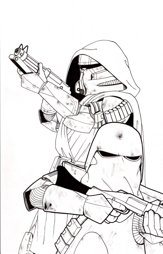 Commander Bly Coloring Pages Coloring Pages