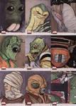 Star Wars Galaxy 4 cards 3
