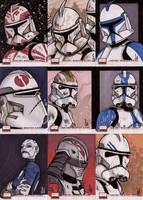 Star Wars Galaxy 4 cards 4 by ragelion