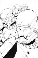 Republic Commandos by ragelion