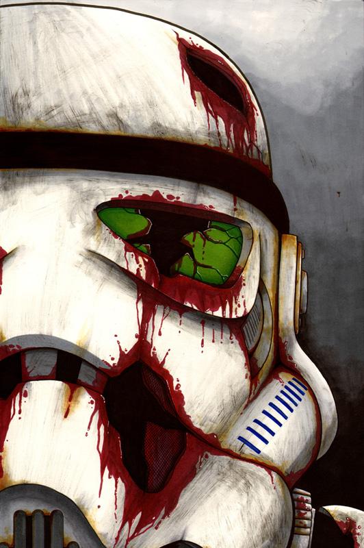 Death Trooper Zombie Week By Ragelion On Deviantart