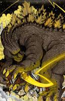 Godzilla Sinestro Corps by ragelion