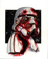 Death Trooper Bust sketch by ragelion