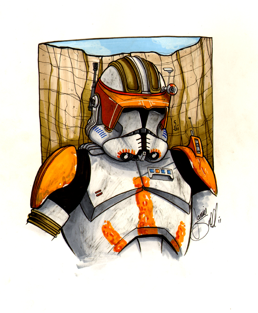 Commander Cody Commission by ragelion