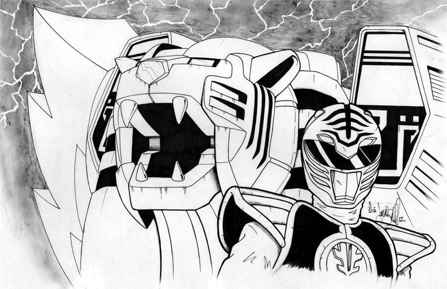 White Ranger by ragelion