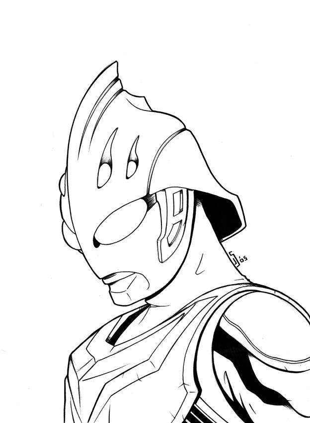 ultraman coloring pages - photo#45