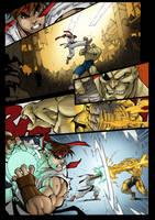 Ryu VS Sagat by DEADNEMO