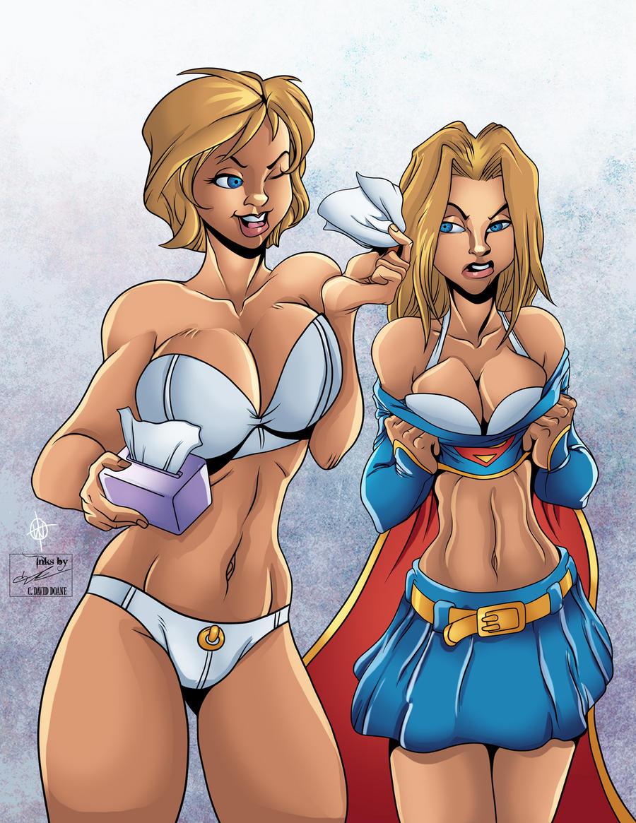 Power girl supergirl nude