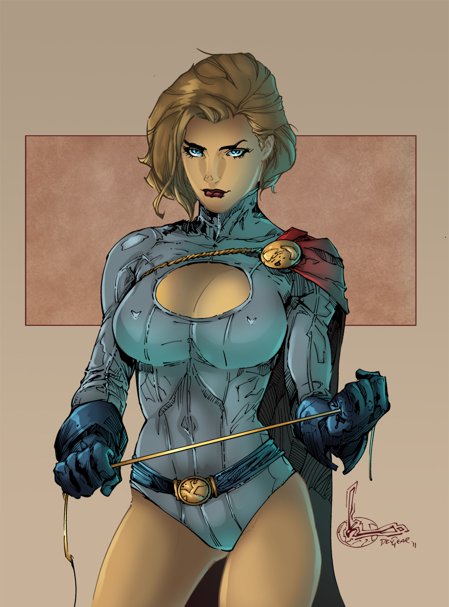 BA03 Power Girl by DEADNEMO