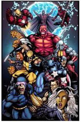 Avengers VS X-Men by DEADNEMO