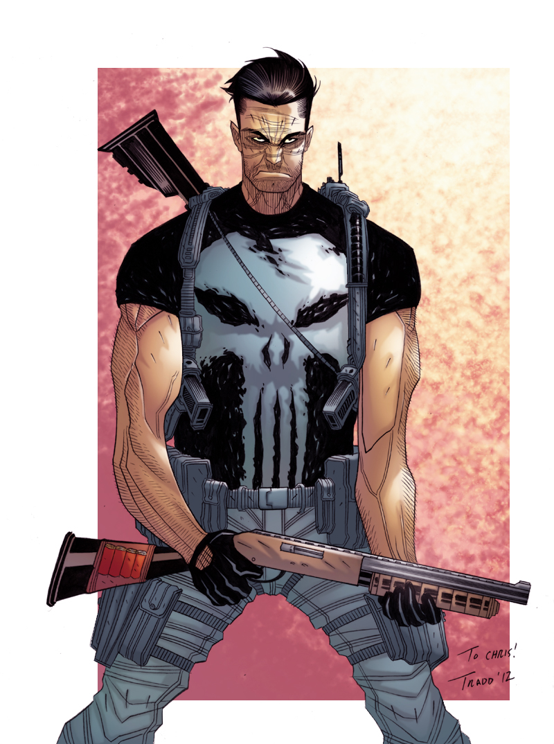 The Punisher by DEADNEMO