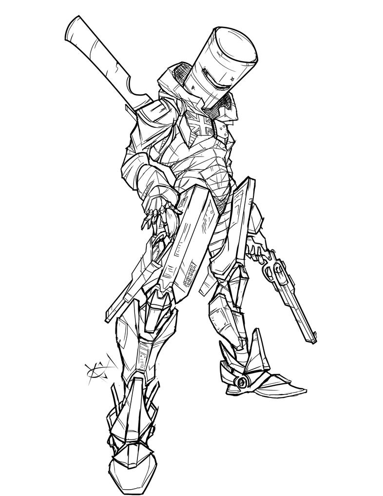Bush Ranger Inks by DEADNEMO