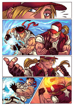 Ryu x Terry Page 4