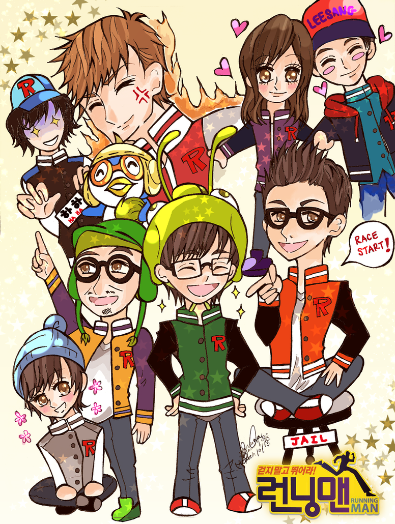 SBS Running Man by she-be