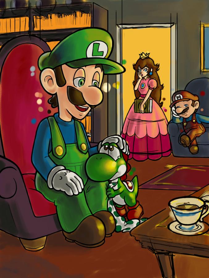 I had a nightmare WIP by Mushroom-Tower