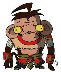 Invader Wukong