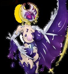 Lunaala goo transformation by Dark-Cynder-Dragon
