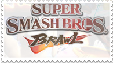 Smash Bros Brawl stamp